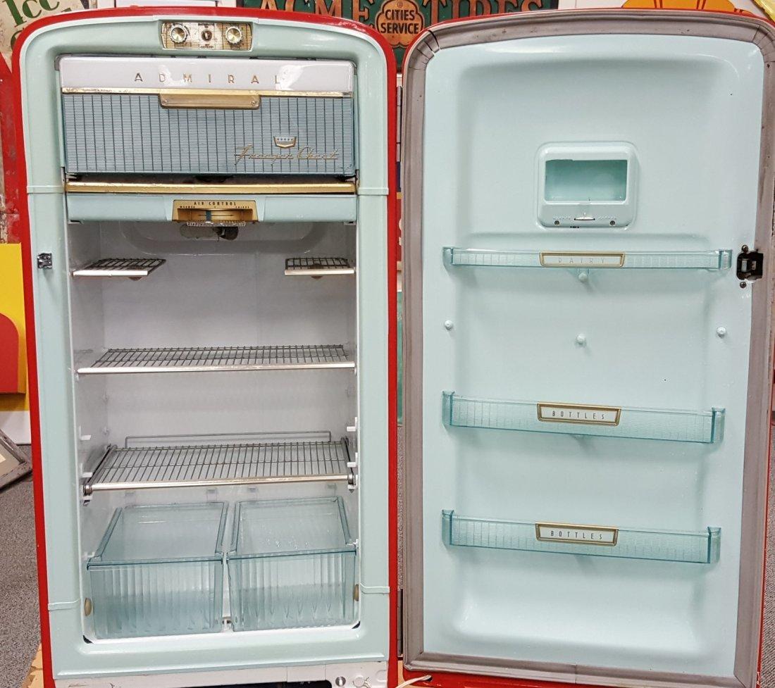 Original 1950's Vintage Admiral Refrigerator - 2