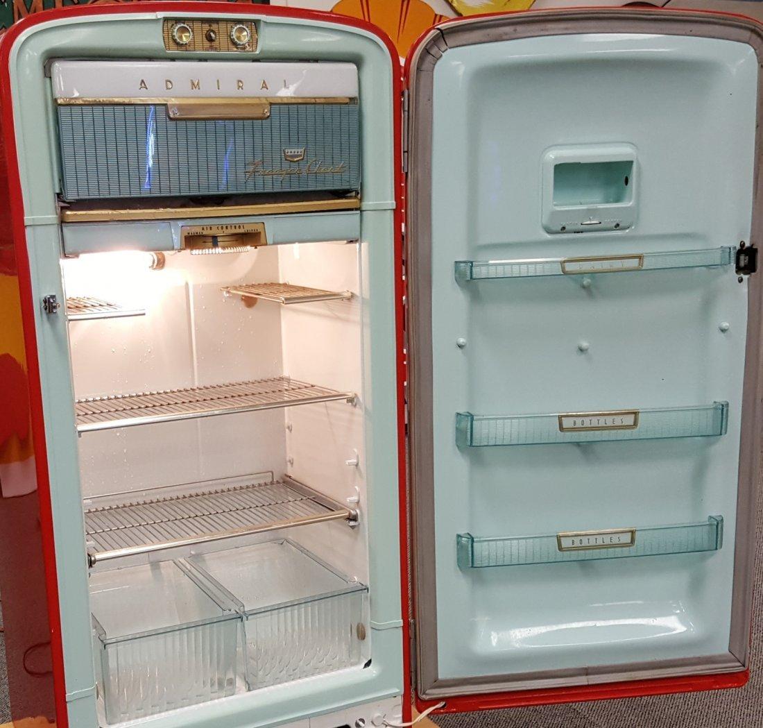 Original 1950's Vintage Admiral Refrigerator - 3
