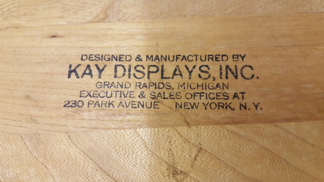 Coca Cola Kay Displays Wood Sign Refreshing / Delicious - 2