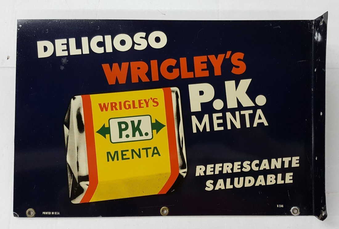 Wrigley's  Spanish Flange Sign