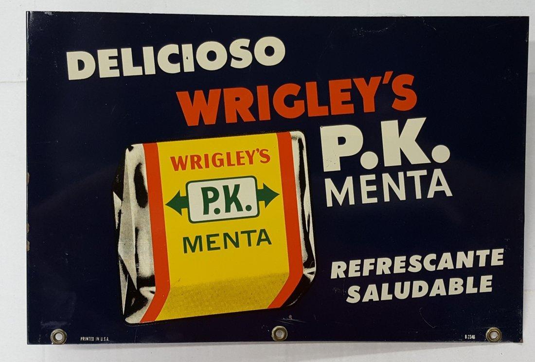 Wrigley's  Spanish Flange Sign - 2