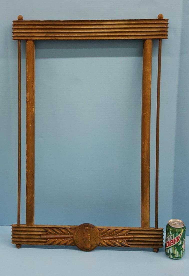Coca Cola Kay Displays Wood Sign Frame