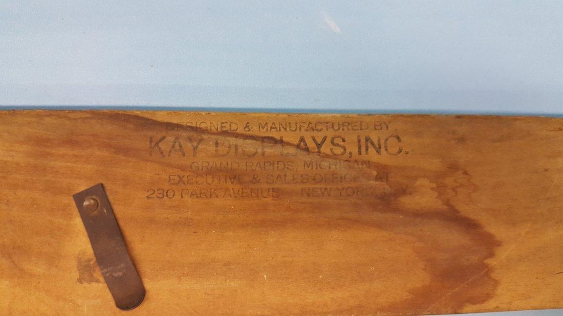 Coca Cola Kay Displays Wood Sign Frame - 3