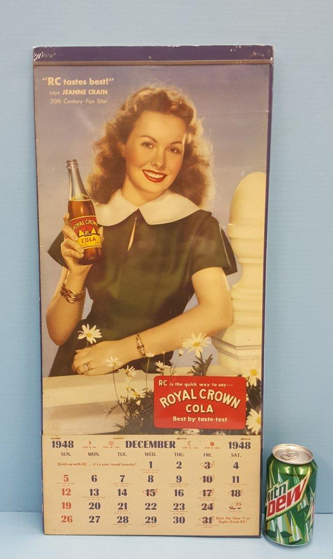 Royal Crown Cola Pinup Girl Calendar