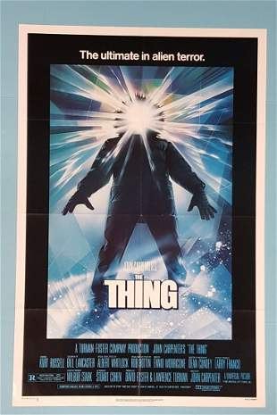 """The Thing (Universal 1982) One Sheet 27"""" x 41"""""""