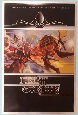 """Flash Gordon (Universal 1980) Advance Sheet 25"""" x 38"""""""
