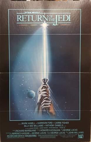 Return of the Jedi Movie Theater Cardboard Standee 1983