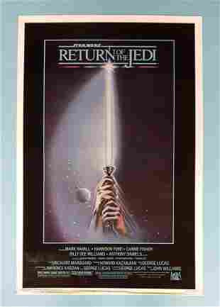 Return of the Jedi 1983 one sheet