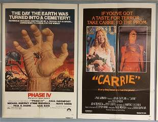 2 Posters Phase IV & Carrie One Sheets
