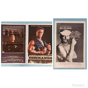 3 posters Taps, Commando, The Last Detail