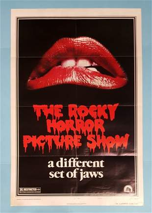 The Rocky Horror Picture Show 1975 1 Sheet Movie Poster