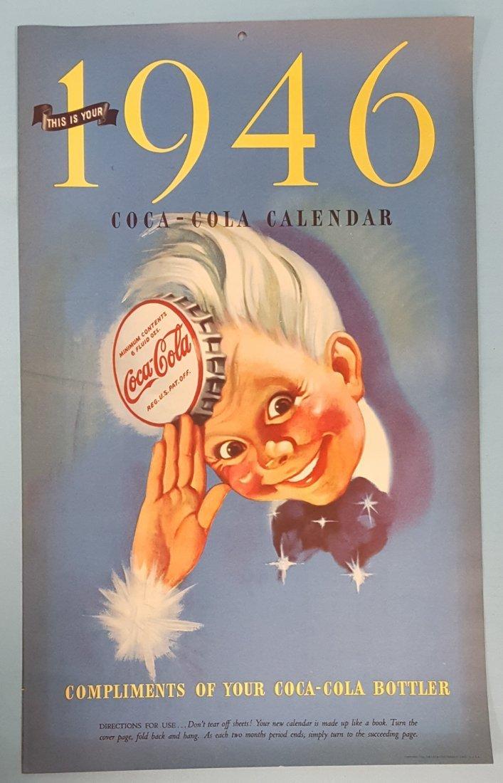 NOS 1946 Coca Cola Calendar