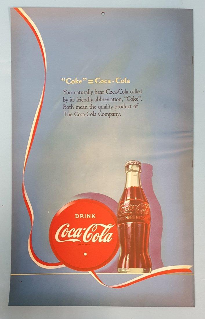 NOS 1946 Coca Cola Calendar - 2