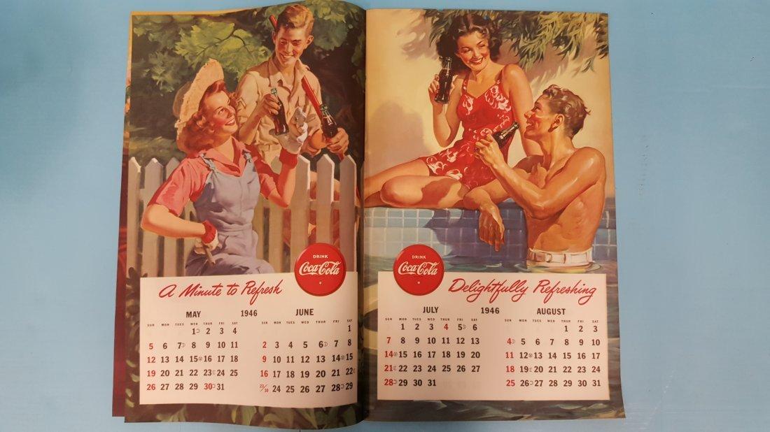 NOS 1946 Coca Cola Calendar - 4