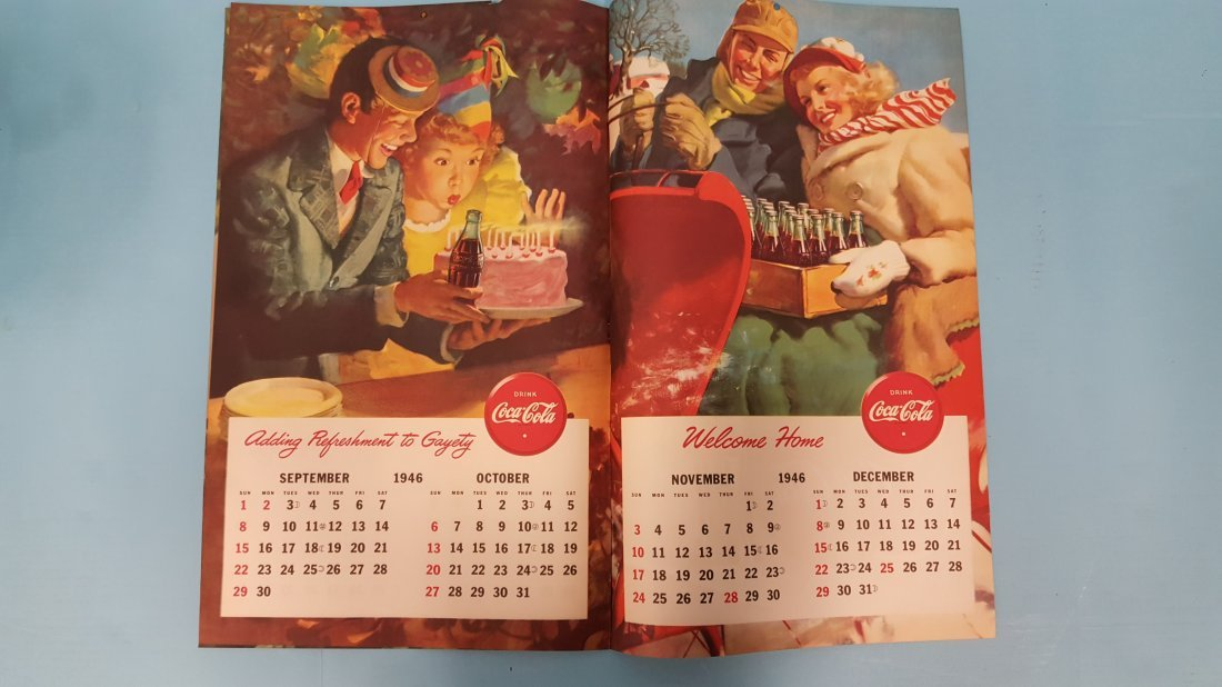 NOS 1946 Coca Cola Calendar - 5