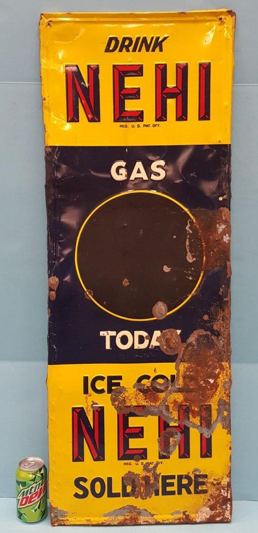 Drink NEHI Gas Today Tin Sign