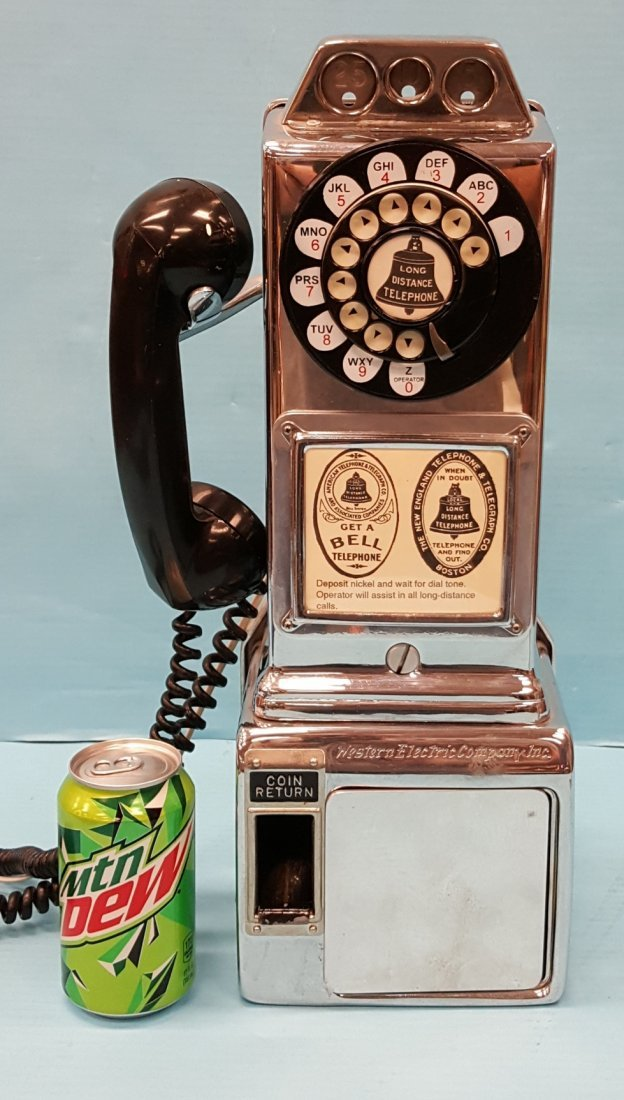 Chrome Western Electric Diner Payphone