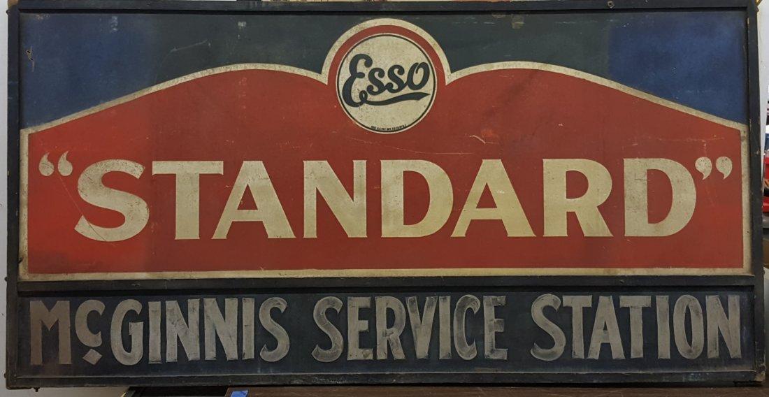 Esso Standard McGinnis Service Station Sign