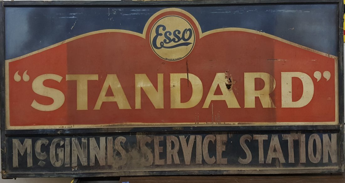 Esso Standard McGinnis Service Station Sign - 2