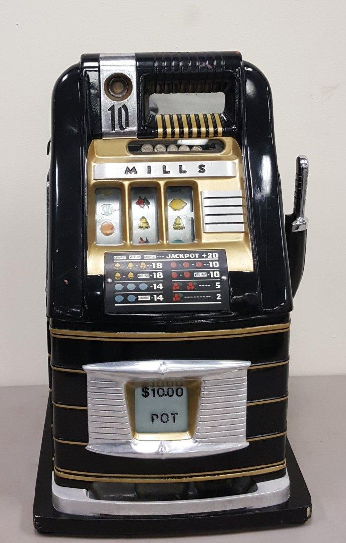 Mills 10 cent slot machine