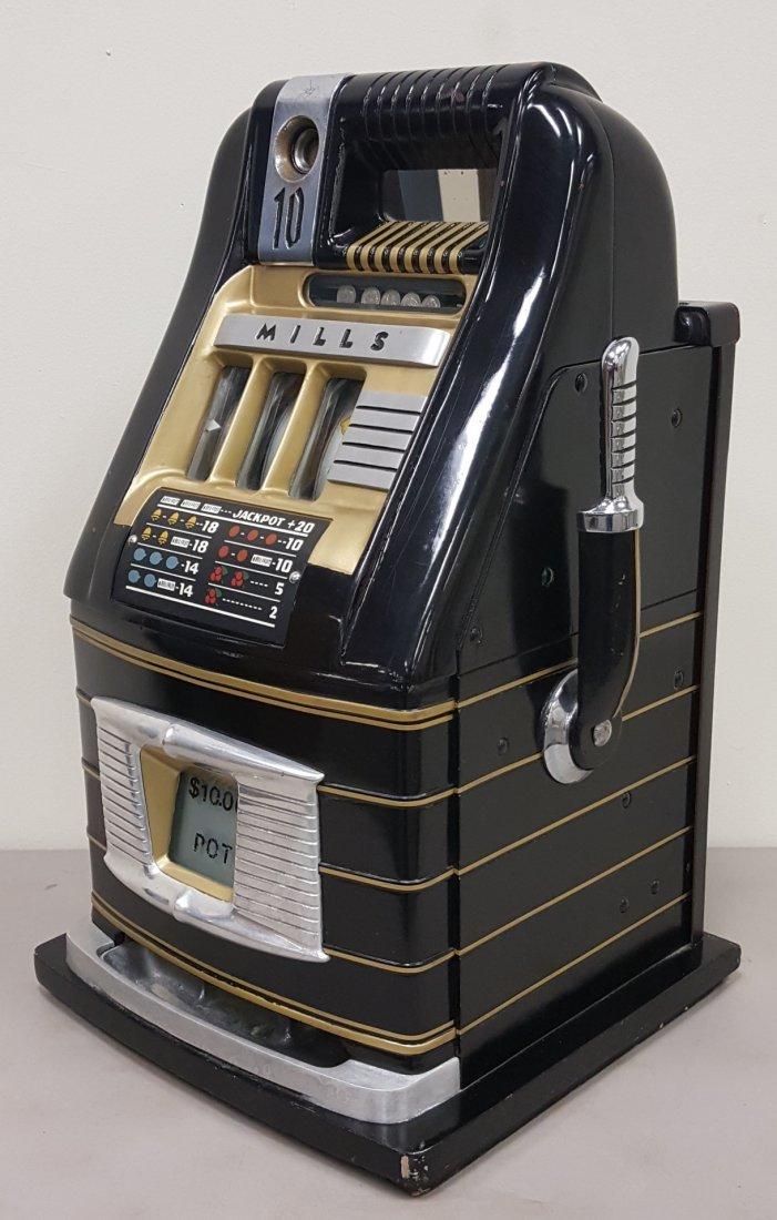 Mills 10 cent slot machine - 2