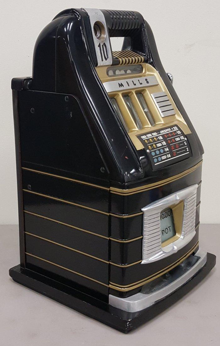 Mills 10 cent slot machine - 3