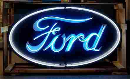 Ford Neon Sign Single Sided