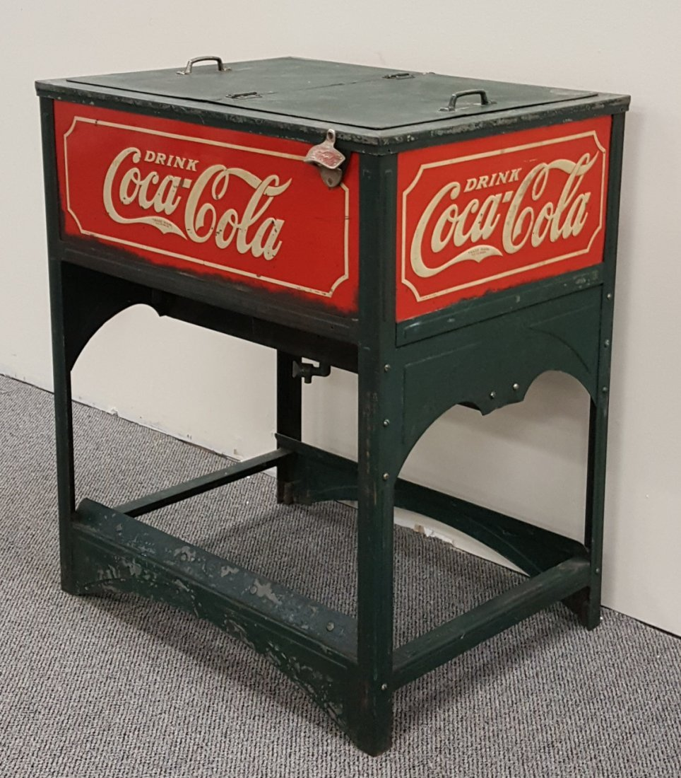 Coca Cola Glascock Cooler