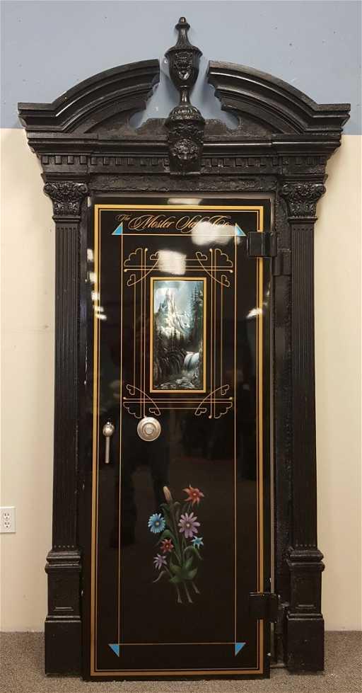 1900's Bank Vault Door. See Sold Price - 1900's Bank Vault Door