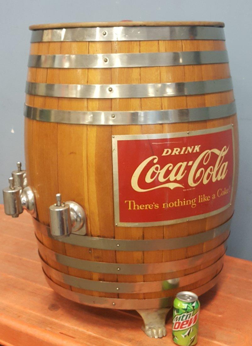 Coca Cola Barrel Fountain Dispenser