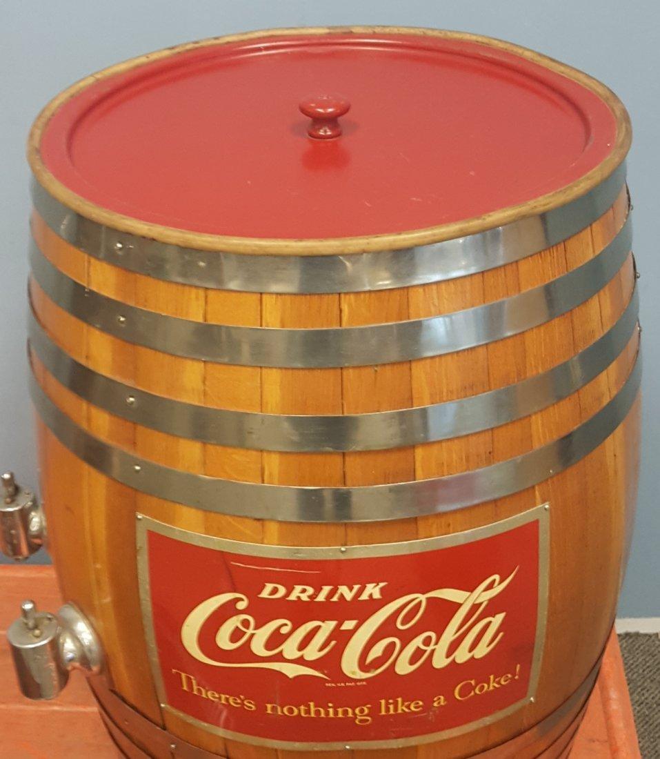 Coca Cola Barrel Fountain Dispenser - 4
