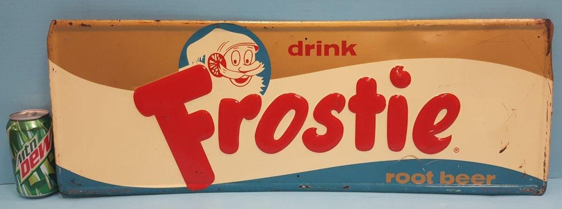 Drink Frostie Root Beer Tin Sign