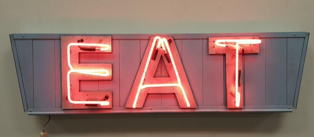 Vintage EAT Neon Sign