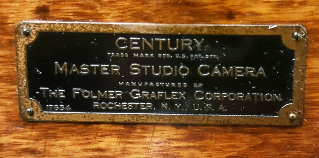 Graflex Master Studio Camera, Stand & Stool - 3