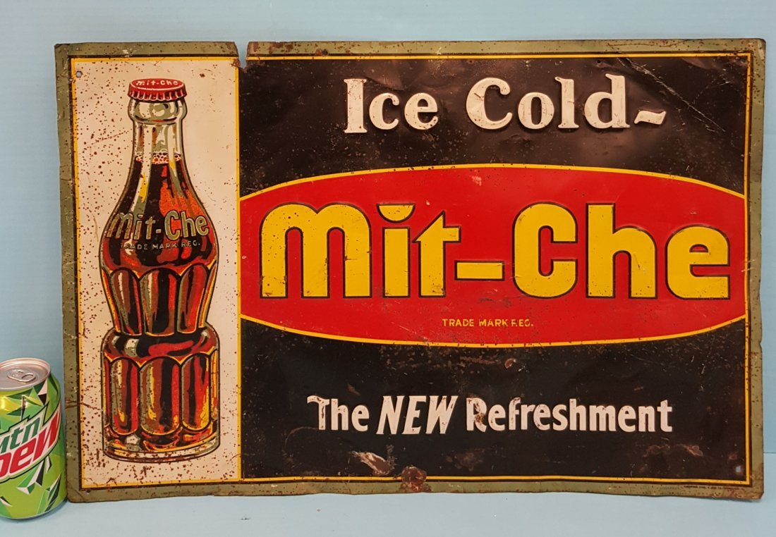 Mit-Che Ice Cold Tin sign