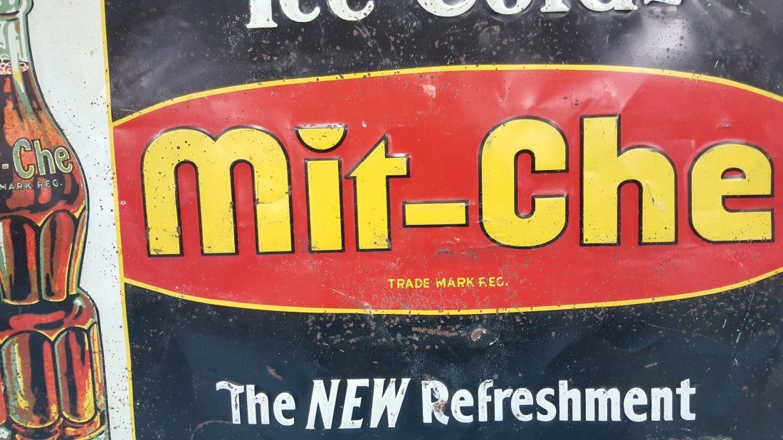 Mit-Che Ice Cold Tin sign - 3