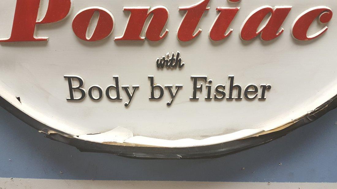 RARE Pontiac  Body by Fisher Sign - 2