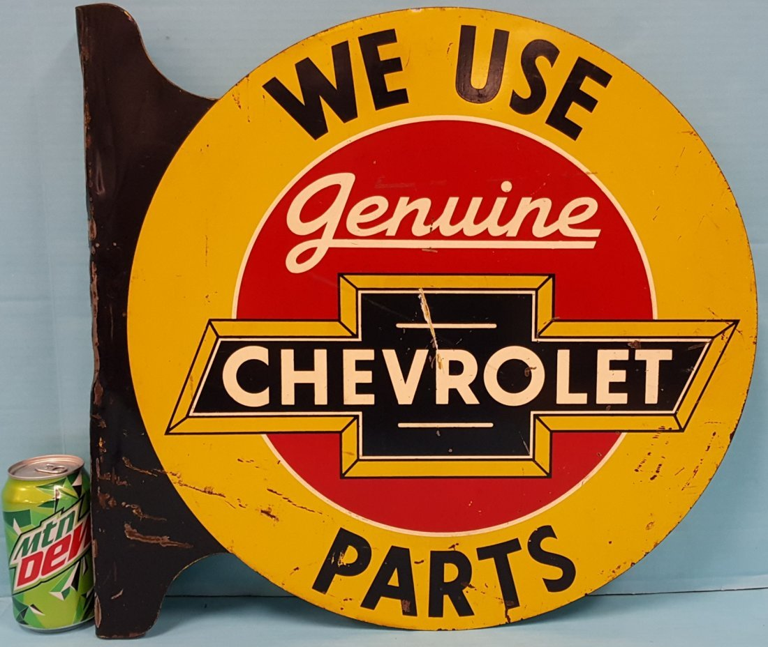 Genuine Chevrolet Parts Flange Sign