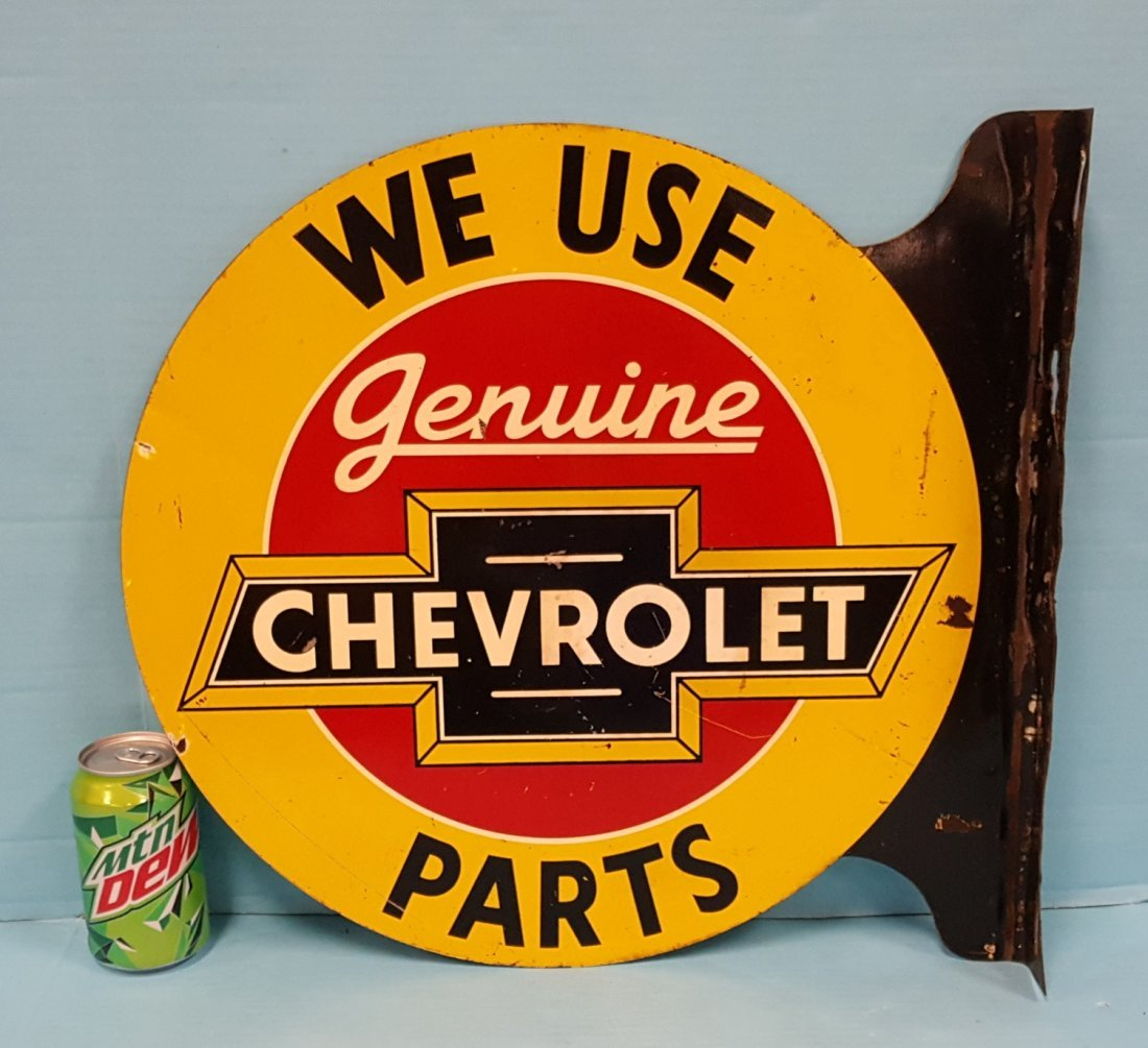 Genuine Chevrolet Parts Flange Sign - 2
