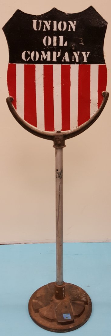 Union Oil Company Lollipop Sign