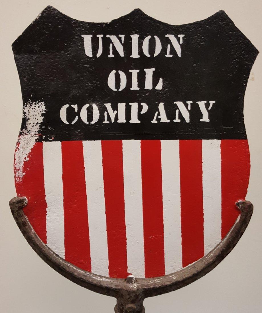 Union Oil Company Lollipop Sign - 3