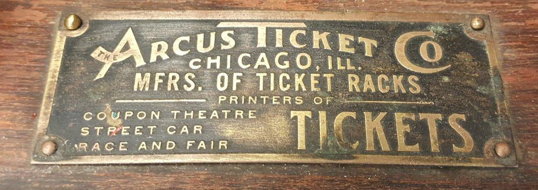 1920's Arcus Ticket Rack - 2