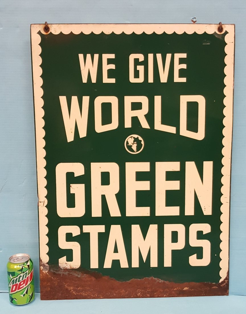 We Give World Green Stamps