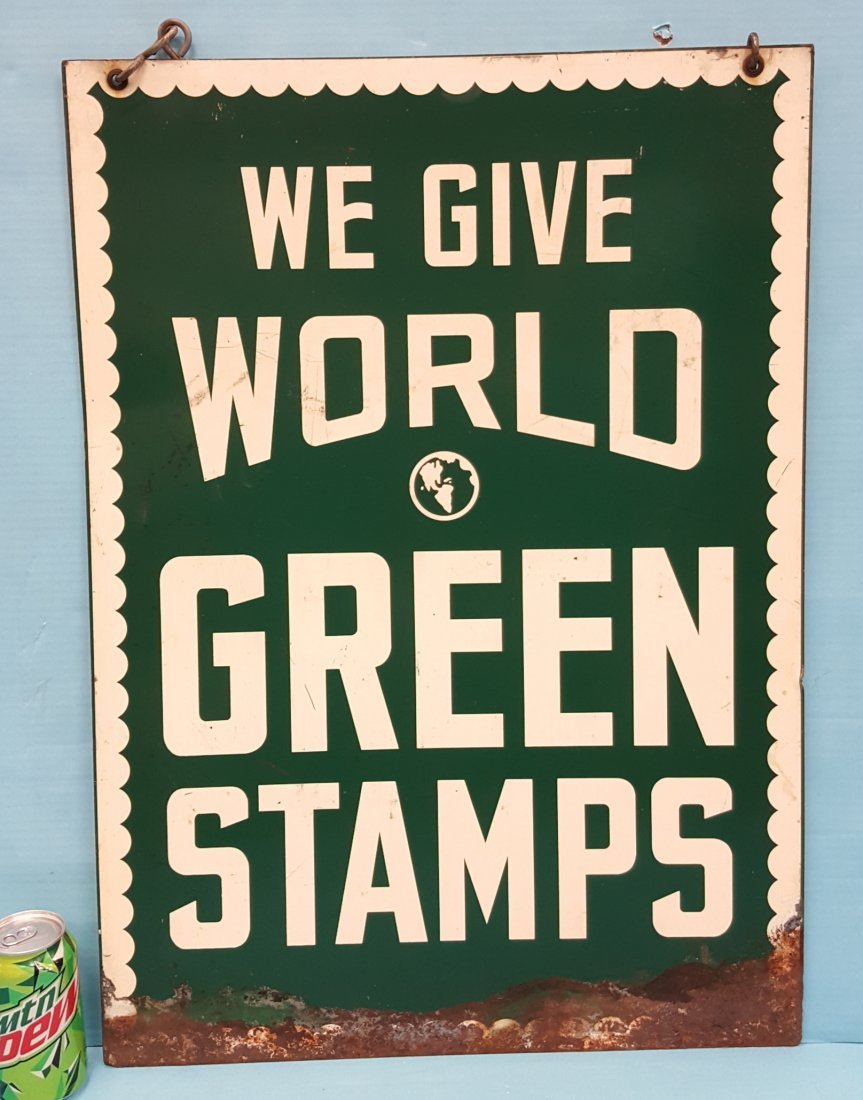 We Give World Green Stamps - 2