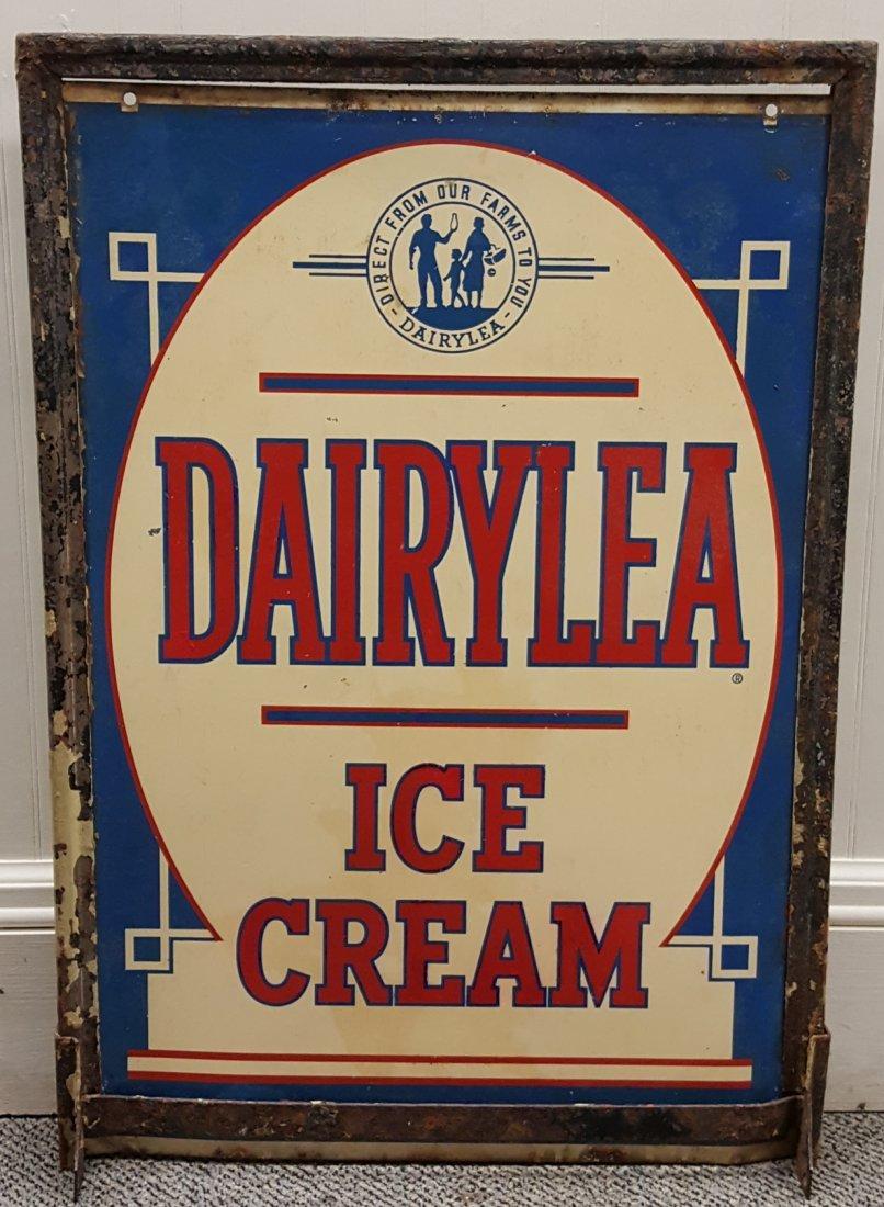 DAIRYLEA Ice Cream Double sided sidewalk sign