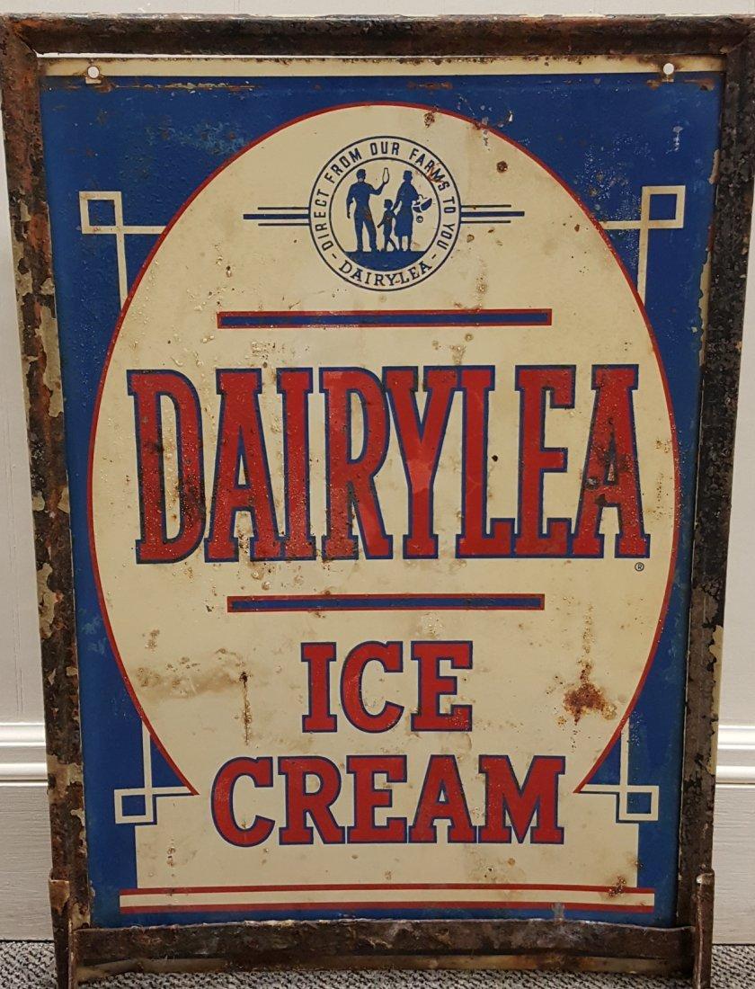 DAIRYLEA Ice Cream Double sided sidewalk sign - 2