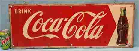 Drink Coca Cola Arrow Sign
