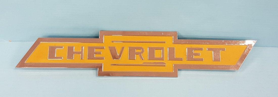 1950's Chevrolet Chrome Emblem