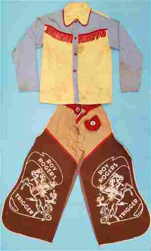 Vintage Roy Rogers Cowboy Outfit