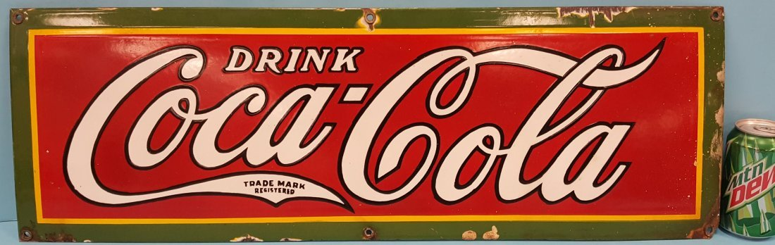 Porcelain Coca Cola Sign